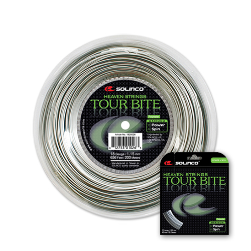 솔린코 TOUR BITE 투어바이트 굵기 1.10mm,1.20mm,1.25mm SOLINCO TENNIS STRING